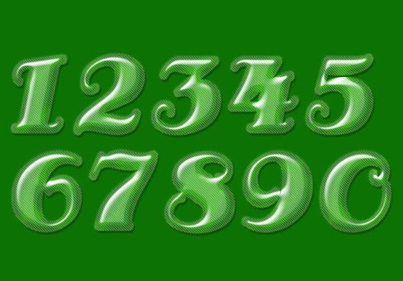 0到9的数字创意图片